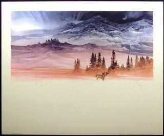 Michael Atkinson Serenity Hand Signed Fine Art Beautiful Super