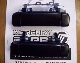 1991 1994 Mercury Capri EXACT FIT Replacement Door Handle Set   BRAND