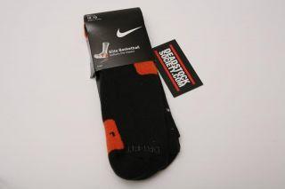 Nike Elite Basketball Crew Socks 12 15 Large First Gen OG Black XL New
