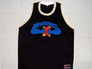 Squad Space Jam Movie Jersey Black Michael Jordan New Any Size