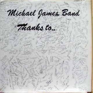Michael James Band Thanks to LP SEALED Private Midwest MN AOR Rock