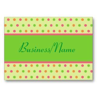 Retro Dot Business Card