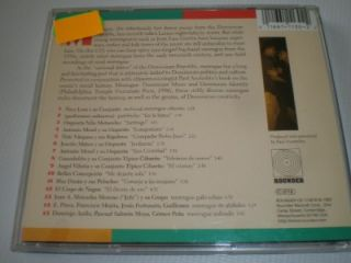 Merengue Dominican Music CD New
