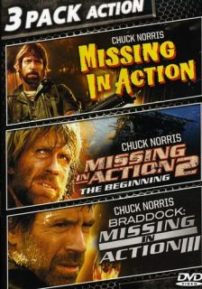Chuck Norris 3 MGM Films New DVD