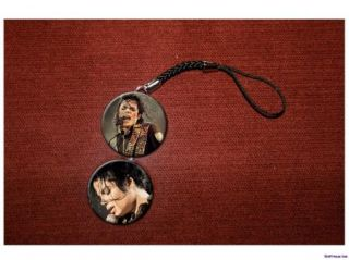 Michael Jackson Sings Cell Hanging Charm