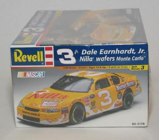 Dale Earnhardt Jr 3 Nilla Wafers Nutter Butter Revell Model Kit