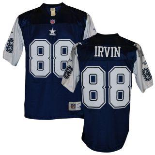 Cowboys Michael Irvin Double Star Jersey Navy XL