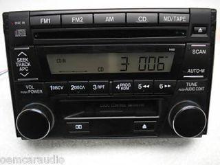 01 02 03 Mazda Millenia Miata 626 Protege Radio Stereo Tape Cassette