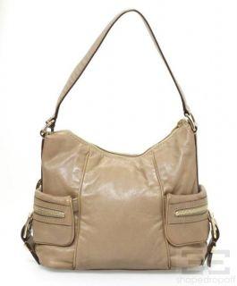 Michael Kors Tan Leather Gold Hardware Handbag