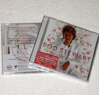 Deluxe Edition Rod Stewart Merry Christmas Baby CD Bonus Verve 2012