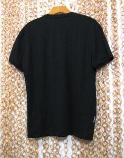 Nice Black Superfine Ultralite 150 100 Pure Merino Wool Shirt M