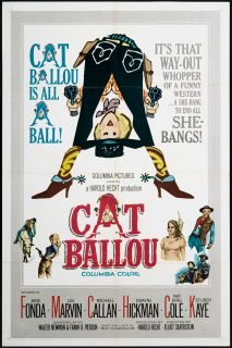 Cat Ballou 1965 Original U s One Sheet Movie Poster