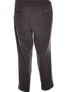 Michael Michael Kors Brown Stretch Knit Women Pants Sz 22W