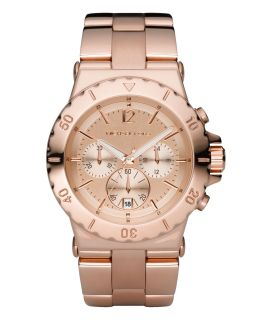 Michael Kors Rose Gold Round Dial Chronograph MK5314