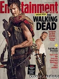 Entertainment Weekly August 2012 Norman Reedus Michael Rooker