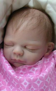 Reborn Baby Girl Angelina from Ryan Sculpt by Michelle Fagan