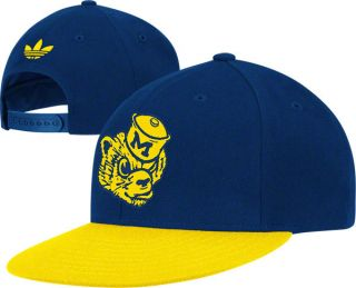 Michigan Wolverines Adidas Originals Vault Logo Snapback Hat