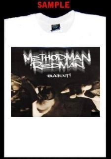 Method Man Custom T Shirt Tee Redman Rap Hip Hop T107