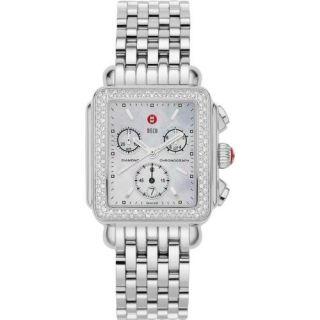 Authentic Brand New Michele Deco Diamond Watch