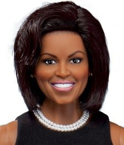 Franklin Mint Michelle Obama White House Portrait Doll
