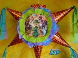 Pinata Tinkerbel Birthday Party Mexican Craft for Candy