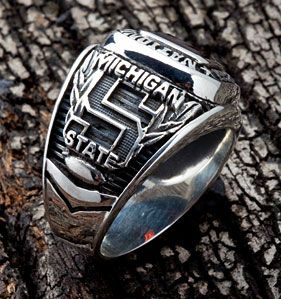 Michigan State Football Team The Spartans Biggie Munn Sterling Silver