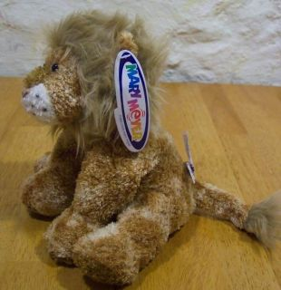 Mary Meyer Sweet Leonardo Lion Plush Stuffed Animal New