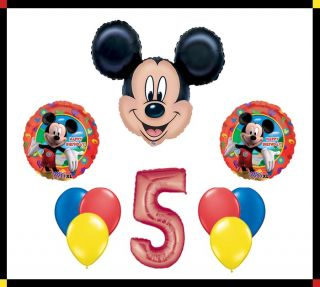 Disney Mickey Mouse Clubhouse 5 Happy Birthday Balloon Set Party