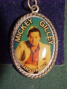 Vintage Mickey Gilley Gilleys Necklace Charm Picture