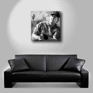 PHIL MICKELSON Golf pga poster painting CANVAS ART GICLEE PRINT (Large
