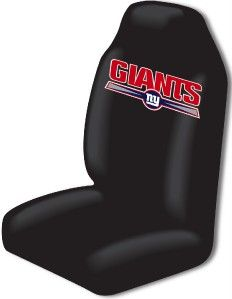 New York Giants Car Seat Covers Floor Mats NFL Set
