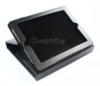 Leather Case Stand Cover with Bluetooth Wireless Keyboard For iPad 2