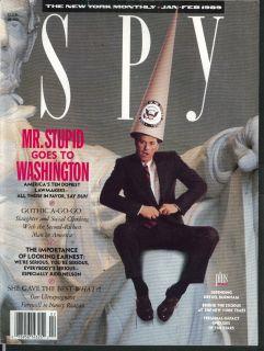 Spy Judd Nelson Nancy Reagan Drexel Burnham Billy Joel Michael Jackson