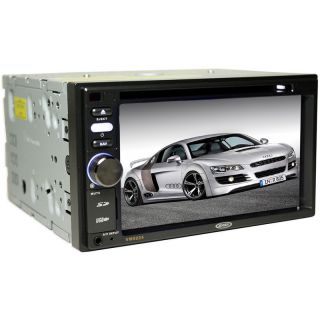 Jensen VM9224 Double DIN Car DVD CD MP3 WMA Radio with 6 2 TFT LCD