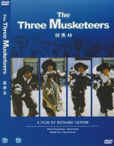 The Three Musketeers 1973 Oliver Reed DVD