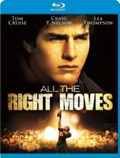 All The Right Moves Blu Ray Disc New Tom Cruise 024543703358