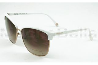Michael Kors Sunglasses M2472S Griffin 105 White Gold Clubmaster