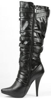 High Heel Platform Tall Knee Boot 9 US Anne Michelle Chaos 05