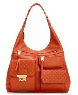 Calvin Klein Handbag, Bedford Leather Satchel   Handbags & Accessories