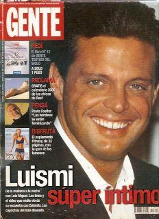 Luis Miguel Gabriela Sabatini ARG Mag 1999