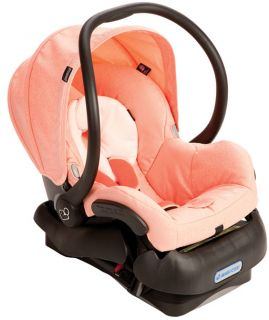 Maxi Cosi Mico Infant Baby Car Seat w Base Leopard Pink New IC099BIP
