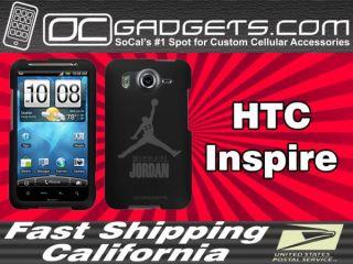 Air Michael Jordan Black Case Cover ATT HTC Inspire 4G