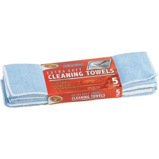 Choice Extra Soft Microfiber Cleaning Towel 5 PK 3 605 7