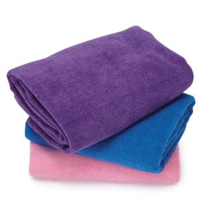 PE3478 Top Performance Microfiber Pet Grooming Towels 3pk.