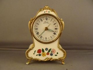 Vintage Linden Black Forest West Germany Wind Up Alarm Clock