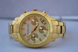 Michael Kors Gold Tone Womens Watch MK5132 28