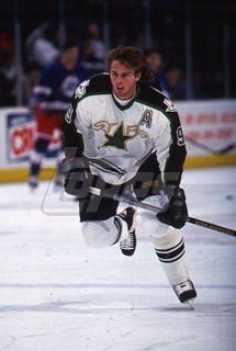 1994 Topps Hockey Slide Negative Mike Modano Dallas Stars
