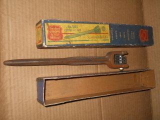Vintage Standard Tool Co Standard Grinding Wheel Dresser Cutter 3 4
