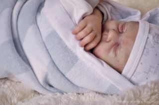 New Reborn Baby Easton 18 Doll Kit by Michelle Fagan 7216