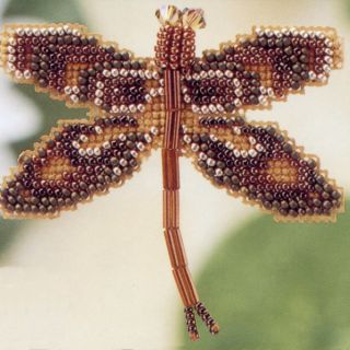 Dragonfly Bead Cross Stitch Kit Mill Hill 2000 Spring Bouquet
